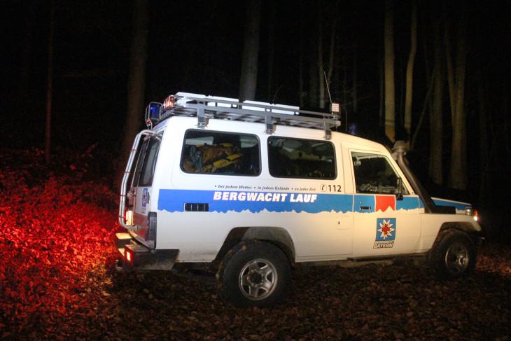 Auf den tödlichen Kletterunfall folgte eine große Suchaktion, an der sich unter anderem die Bergwacht beteiligte.