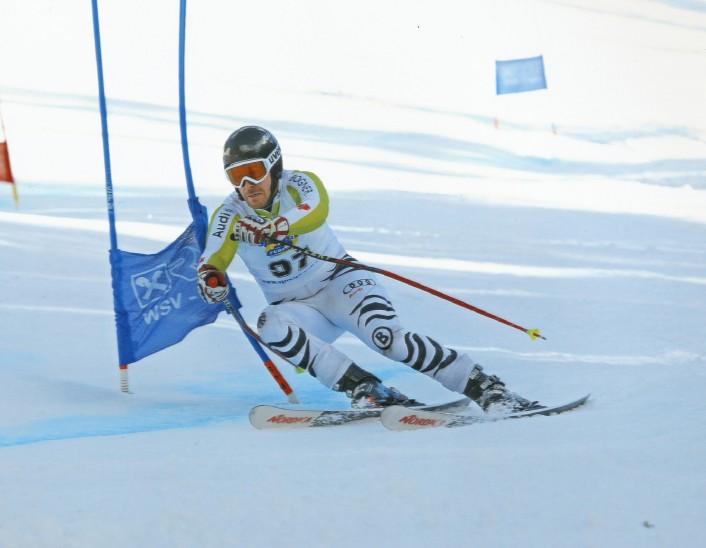 Beindruckende Premiere: Beim Masters Cup in Hochfügen gewann Johannes Herger den Riesenslalom seiner Altersklasse mit großem Vorsprung. Im Slalom musste er sich nur um einen Wimpernschlag geschlagen geben. Foto: privat