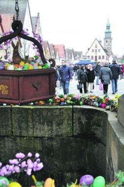 Viele Besucher bummelten gestern durch die Laufer Altstadt.