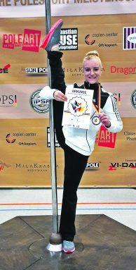Polesport Sabine Gloner Bronze Deutsche Meisterschaften