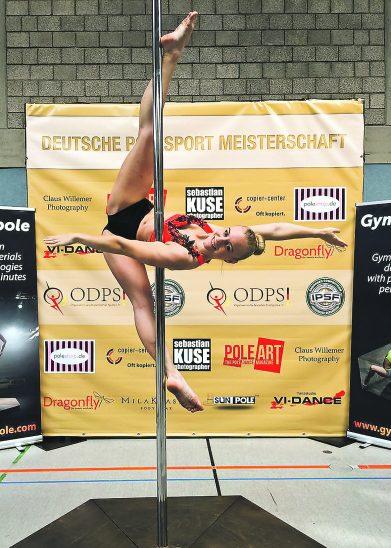 Polesport Deutsche Meisterschaften Sabine Gloner Bronze