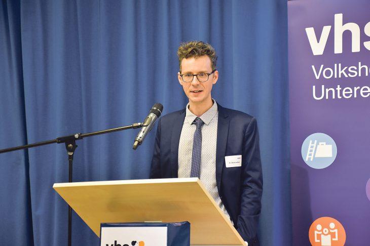 Denis Leifeld ist der neue Geschäftsleiter der Volkshochschule Unteres Pegnitztal.