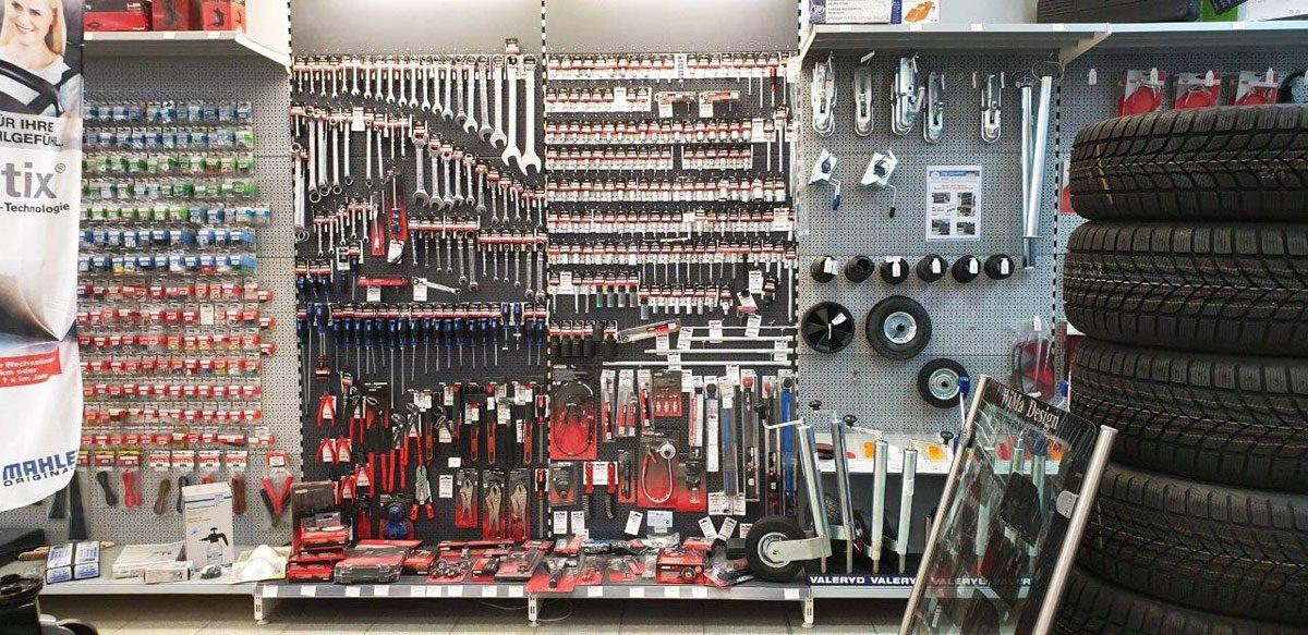 Große Auswahl an Werkzeug